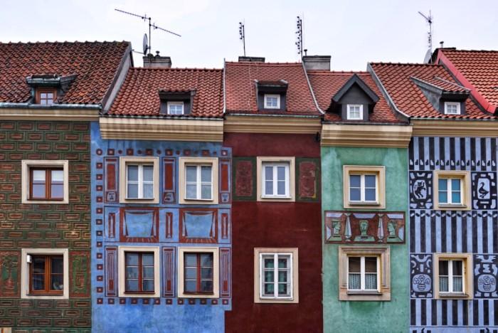 Kupecké domy v Poznani
